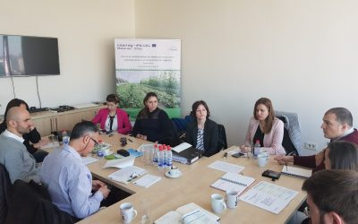 """""""AGRINNO"""" Project Team Members Hold Their Fourth Meeting"""