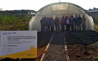 Poseta plastenicima u srednjim poljoprivrednim školama u Rumi, Futogu i Vršcu